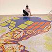 Итальянский художник создал картину из кубиков Рубика