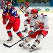 Юниорская сборная Беларуси по хоккею завершила выступление на чемпионате мира в Швеции