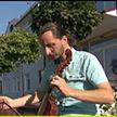 Полесский мастер восстанавливает музыкальные инструменты эпохи Средневековья