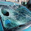 В Глуске Audi протаранил собравшихся у кафе людей: неосторожность или попытка отомстить за обиду? Подробности жуткого ДТП (ВИДЕО)