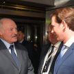 Лукашенко и Курц встретились в Вене