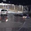 В Минске мужчина спрыгнул с моста прямо под колёса автомобиля