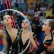II Европейские игры: белорусские гимнастки завоевали два золота в групповых упражнениях