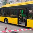 В Киеве мужчина бросил коктейль Молотова в троллейбус