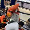 Инцидент в Китае: руку ребенка затянуло в эскалатор