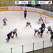 «Шахтёр» уступил «Динамо-Молодечно» в четвёртом матче серии за бронзовые медали чемпионата Беларуси по хоккею