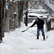 Снежный шторм обрушился на северо-восток США