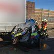 Погиб белорусский дальнобойщик, который менял колесо у фуры