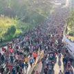 Караван мигрантов движется в столицу Мексики