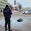 Мужчина совершил самоподжог на пл. Независимости в Минске: на месте работают следователи