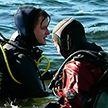 Дайверы впервые провели массовое погружение на самом глубоком озере Беларуси