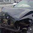 ДТП в Минске: водитель и пассажирка легковушки пострадали