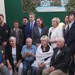 Азаренок, Басков, Эйсмонт и Коля Лукашенко посетили столичный дом-интернат для престарелых и инвалидов