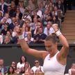 Арина Соболенко впервые в карьере пробилась в полуфинал теннисного Уимблдона