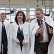 Спикер Совета Республики Наталья Кочанова посетила фабрику «Слодыч»
