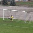 Вратарь украинского футбольного клуба отбил пенальти головой (ВИДЕО)