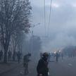 Протесты в выходные в Минске: толпа действовала радикальными методами