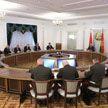 Лукашенко проводит заседание Совета безопасности
