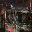 Двухэтажный автобус с туристами сгорел в Перу: 20 человек погибли