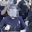 Столкновениями с полицией закончился митинг участников движения Black Lives Matter в Лос-Анджелесе