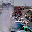 Зажгли! Новый мировой рекорд по «сожжению» покрышек (Видео)