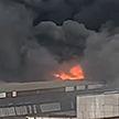В Москве потушен пожар на складе