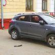 Такси сбило велосипедистку в центре Минска