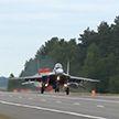 Продолжаются учения военно-воздушных сил Беларуси