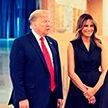 Мелания Трамп в графитовом платье восхитила поклонников