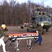 Военные медики и авиаторы провели совместную тренировку в Минске