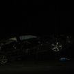 «Лексус» с дорожного ограждения снимали сотрудники МЧС в Бресте