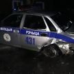 Пьяный водитель врезался в автомобиль ГАИ в Речице
