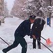 Сильный снегопад накрыл Китай: без света остались почти 90 тысяч жителей