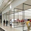 Ограбление магазина Apple смогли записать на видео