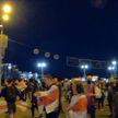 «Мирные» протесты сменились нападениями: правоохранители предупреждают – ответственности не избежать