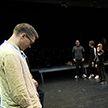 Мастер-класс провели актеры Купаловского театра для юных дарований