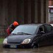 Река Севезо в Милане вышла из берегов: улицы города превратились в каналы