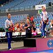 Белорусские спортсменки завоевали две медали на этапе Кубка мира по художественной гимнастике в Португалии