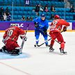 Сборная Беларуси по хоккею обыграла команду Казахстана в серии буллитов