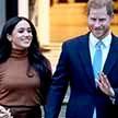 Меган Маркл и принц Гарри впервые появились на публике после ухода из королевской семьи