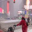 Снегопад в США: парализовано движение наземного транспорта и авиарейсов