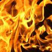 Микроавтобус горел в Барановичах