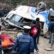 В Непале автобус с паломниками упал в обрыв: 14 человек погибли