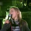 Грета Тунберг спела мировой хит на концерте в Стокгольме