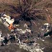 В Калифорнии разбился легкомоторный самолет