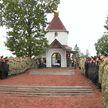 Митрополит Вениамин освятил часовню в честь Александра Невского
