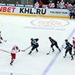 Минское «Динамо» уступило ярославскому «Локомотиву». Это седьмое поражение подряд в чемпионате КХЛ