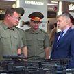 Министр обороны Беларуси посетил выставку вооружения и военной техники «Армия-2018» в Московской области