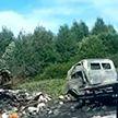 ДТП под Оршей: столкнулись два автомобиля