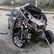 В Чехии водитель грузовика протаранил 27 новеньких автомобилей